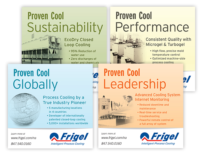 Frigel Proven Cool Campaign