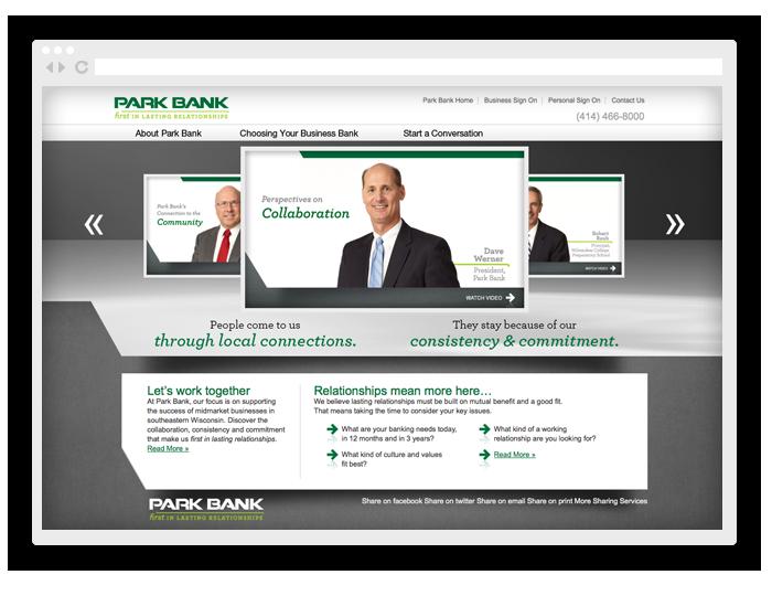 Park Bank Branding