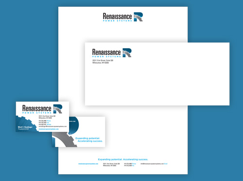 Renaissance Power Systems branding and positioning work