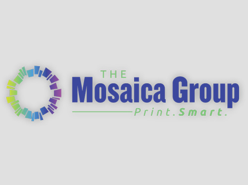 Print Mosaica Group Works Branding and Positioning