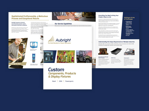Aubright sales and tradeshow work