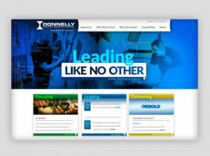 Donnelly Custom Manufacturing Website