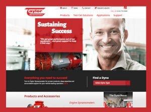Taylor Dynamometer Website