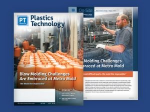 Metro Mold & Design Featured on the Cover of Plastics Technology