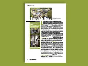 Centrysis Plant Profile Featured in Water & Wastes Digest