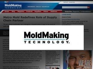 Metro Mold Featured in MoldMaking Technology