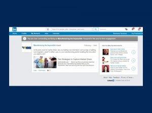 Metro Mold LinkedIn Native Ad Campaign