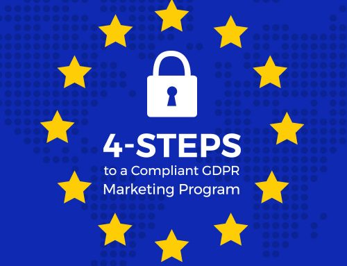 4-Steps to a Compliant GDPR Marketing Program