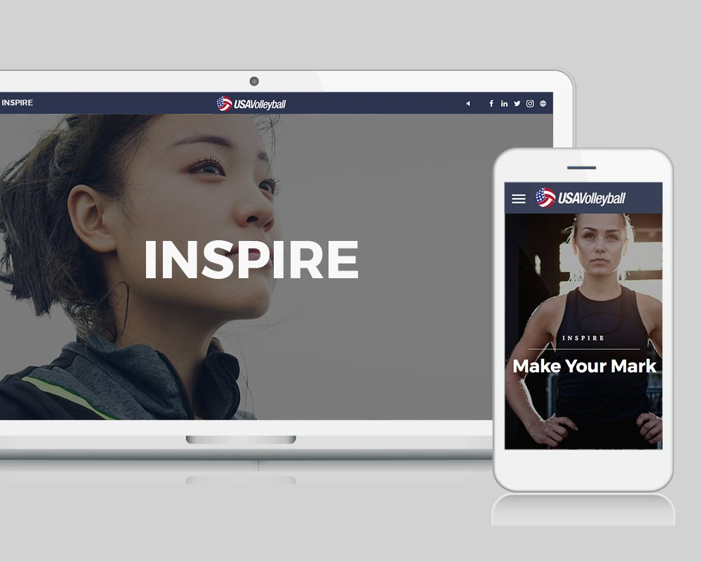 USA Volleyball Your Court - Inspire