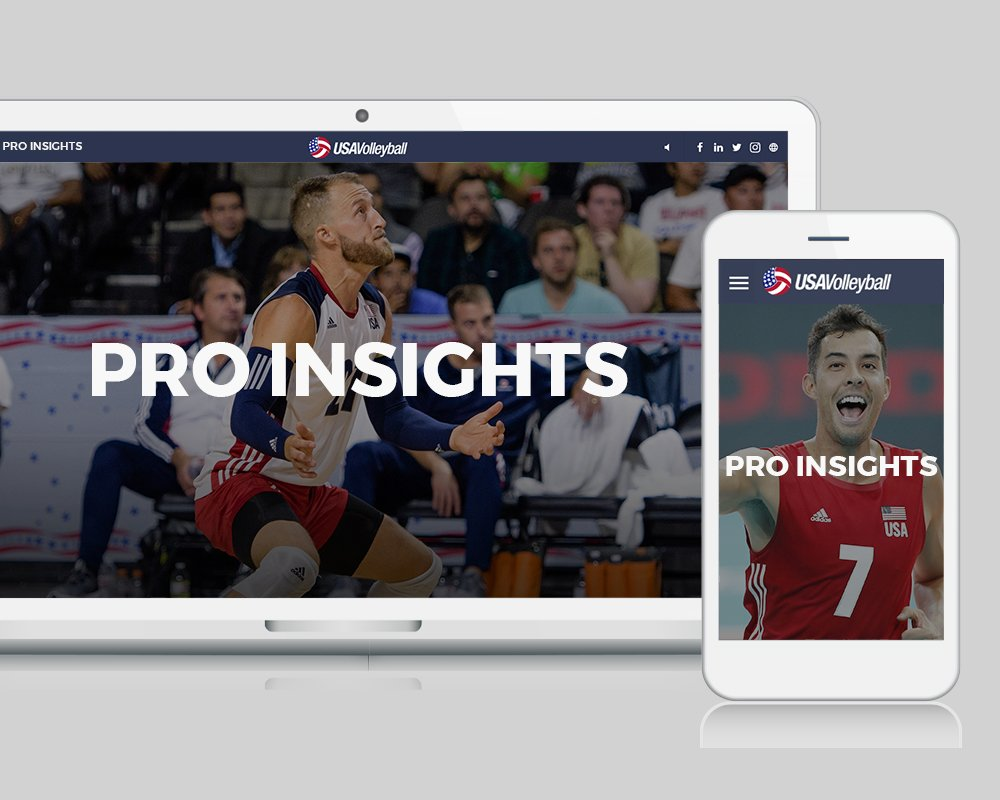 USA Volleyball Your Court - Pro Insights
