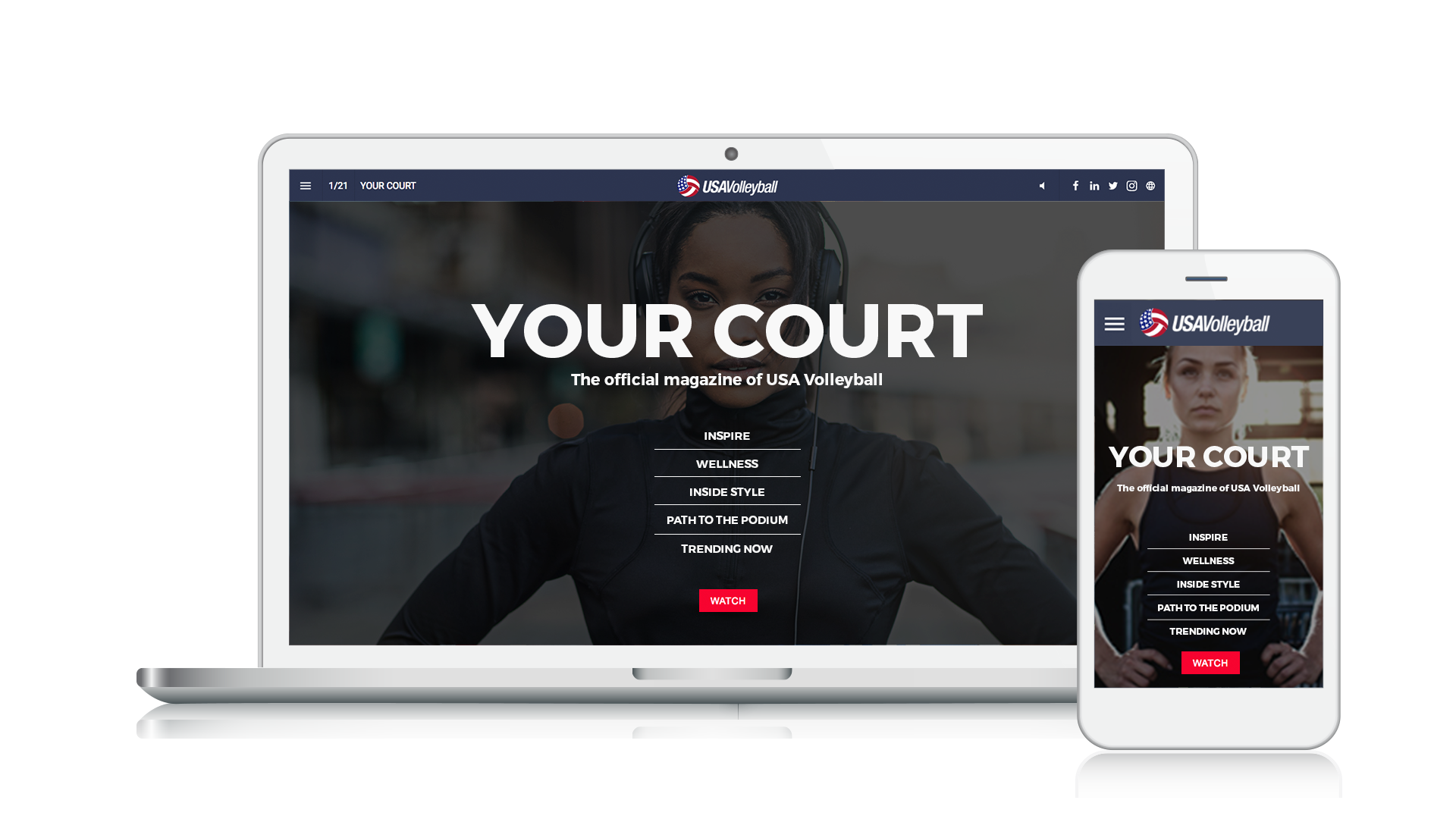 USA Volleyball - Your Court - Issue 1