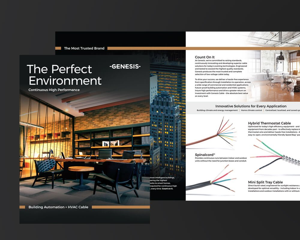 Genesis Sales Collateral