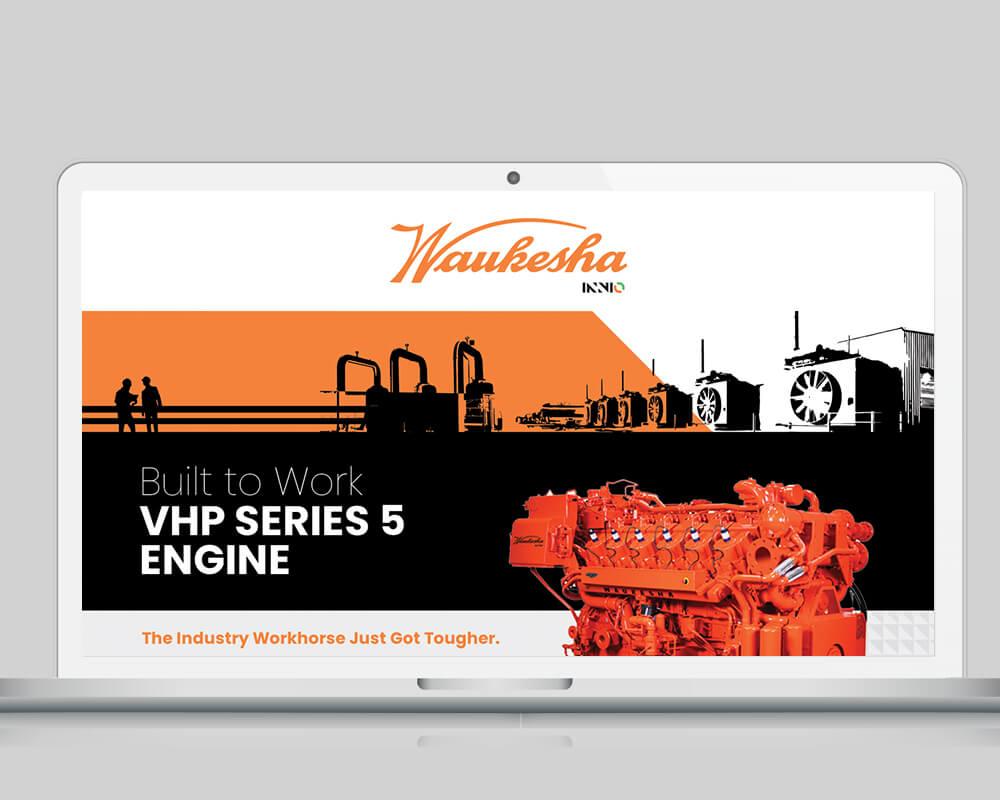 Waukesha Engine - Laptop Display