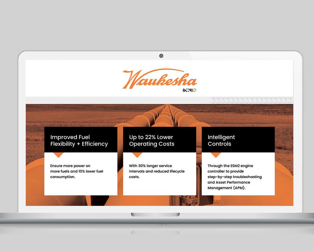 Waukesha Engine - Laptop Display 2