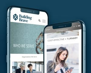 Building Brave - Mobile View