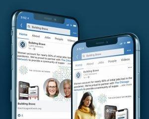 Mobile LinkedIn Screens