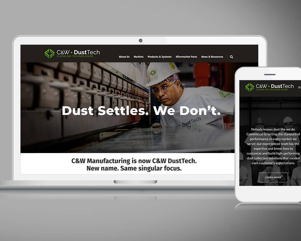 C&W DustTech Homepage