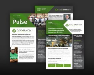 C&W DustTech Print Collateral